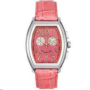 🆕Designer Elini New Yorker Pink Leather Watch